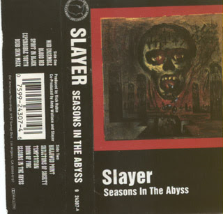 Slayer - Lirik Seasons In The Abyss
