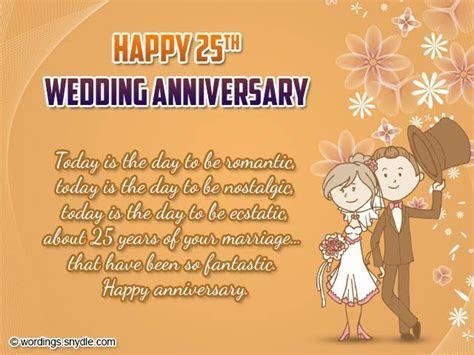 25  unique 25th wedding anniversary wishes ideas on