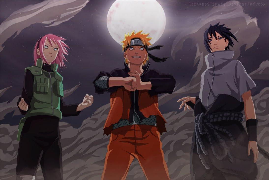 Hebi Sasuke & War Ark Haruno vs 5 Kage Summit Gaara & War ...