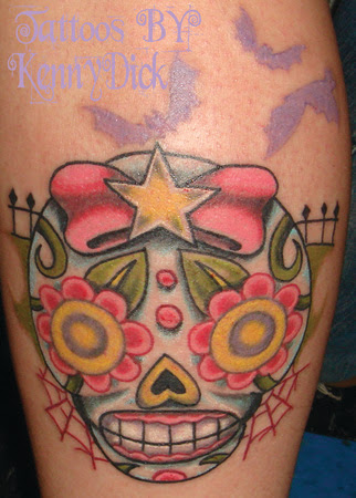 Girly Skull Tattoos Firefighter Tattoomagz