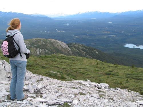 Rachelle on Grey Mountain