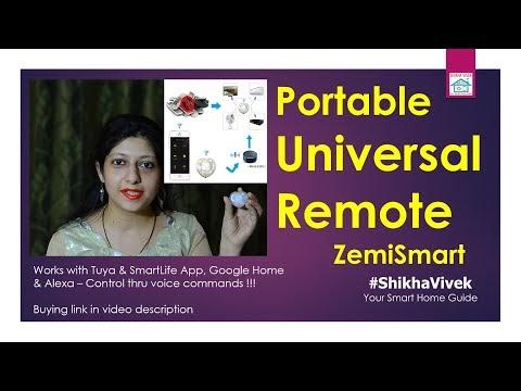 Smart Portable Universal Remote | Zemismart