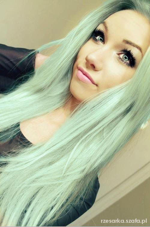 If i was naturally blonde i would do pastel colours i think it would be hard to keep up with but i love pastel coloured hair !