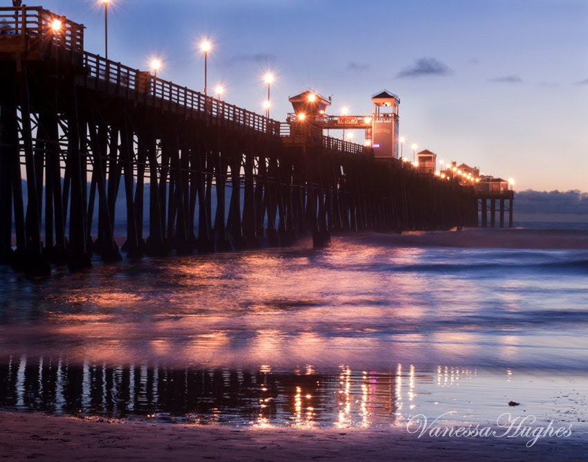 Oceanside Pier, California Photography Print