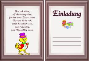 Einladung Geburtstag Download Gratis Deutsch Geburtstag Wünsche