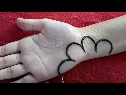 stylish and easy mehndi designs for front hand for kids