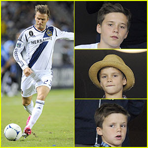 David Beckham: Galaxy Game with the Boys!