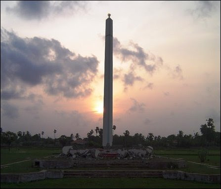 Valvai Monument for victims massacred by IPKF in VVT