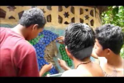 Como Hacer Murales Con Tapas Plasticas
