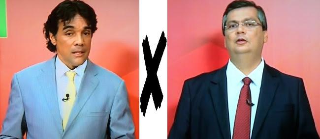 Candidato ao Governo do Maranhão: Edinho Lobão e Flávio Dino