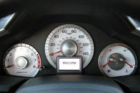 2011 Honda Pilot 4WD Touring gauges