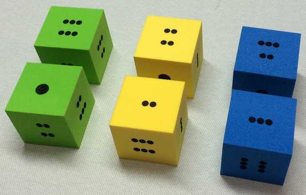 遊戲點數骰子
