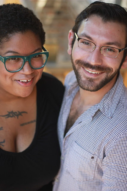 Keith Ecker and Samantha Irby - Guts and Glory - photos by Elizabeth McQuern.
