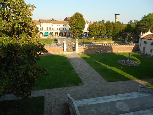 il parco di Villa Badoer, UNESCO, Fratta Polesine