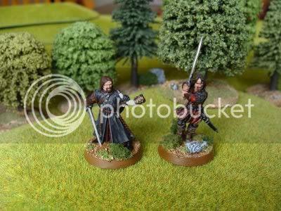 Boromir and Aragorn