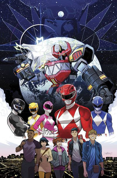 Go Go Power Rangers #1