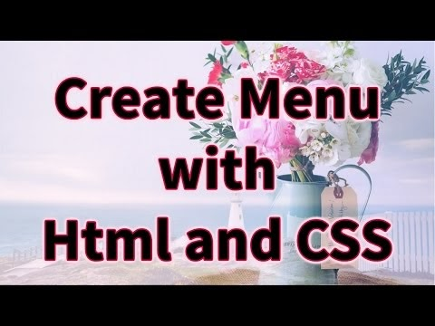 How to create Dropdown Menu with Submenus in Html and CSS (Hindi