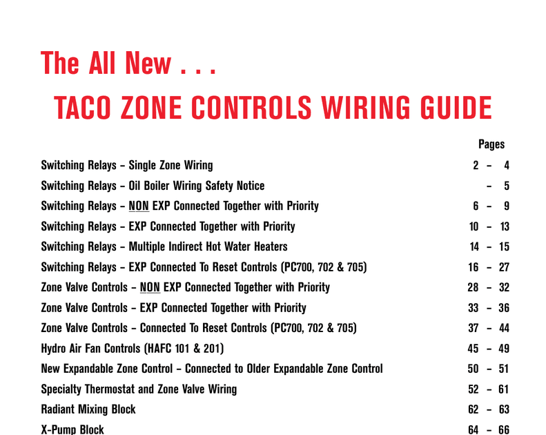 Taco Wiring Diagram 504