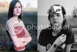 Juliana Hatfield and Mary Timony