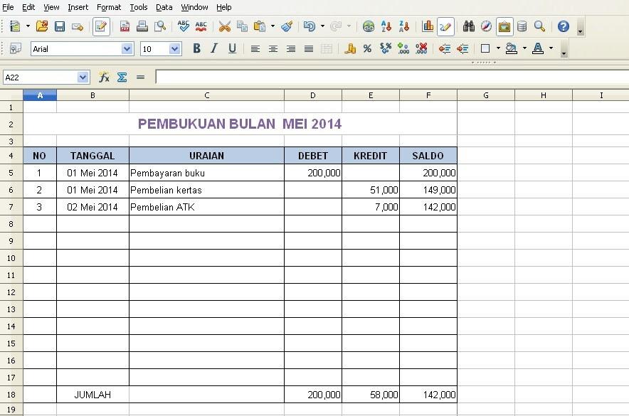Download Laporan Keuangan Perusahaan Jasa Konstruksi Excel ...