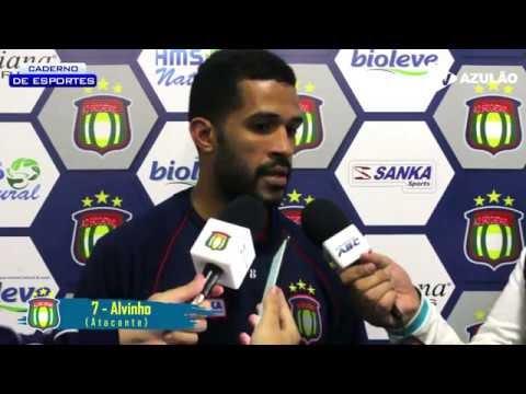 Confira a entrevista do Curraisnovense Alvinho após marcar gol 2.000 da história do São Caetano