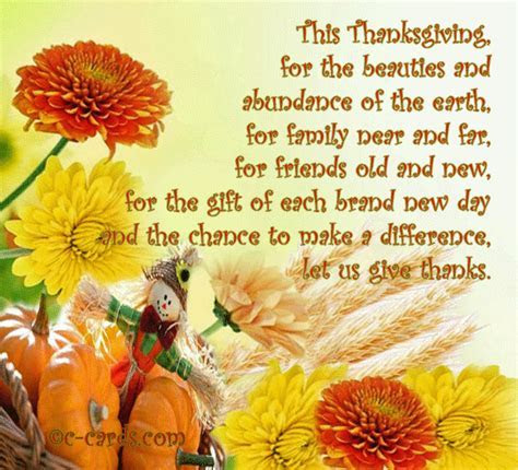 Simple Blessings For Thanksgiving. Free Happy Thanksgiving