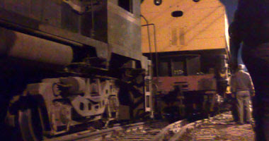 حريق بقطار القاهرة الإسكندرية المميز بمحطة بركة السبع ولا أنباء عن إصابات