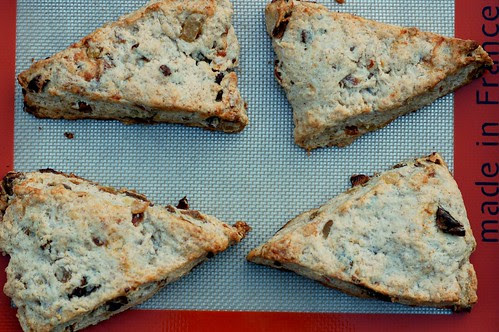 Apricot Ginger Scones by Eve Fox, Garden of Eating blog, copyright 2012