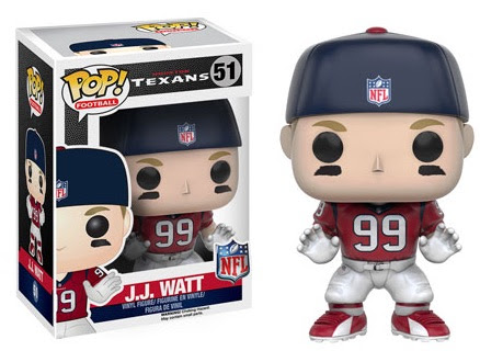 2016 Funko Pop NFL Series 3 Checklist, Info, List, Wave, Exclusives