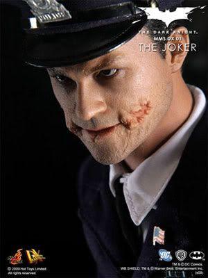 The Joker toy figure, sans make-up.