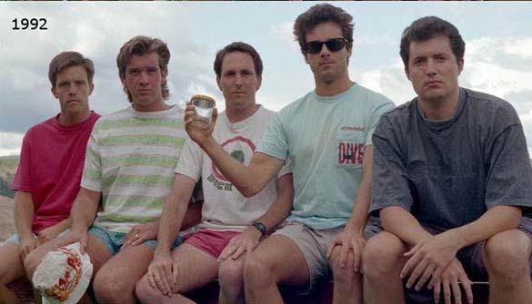 Φίλοι βγάζουν την ίδια φωτογραφία κάθε 5 χρόνια από το 1982 (3)