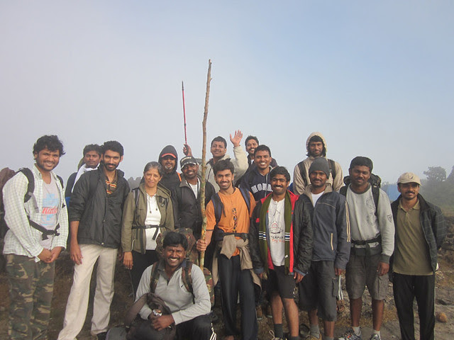 Kumara_Parvatha_Trek_Pushpagiri_Top_Group