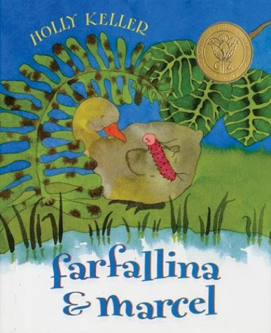 http://www.amazon.com/Farfallina-Marcel-Holly-Keller/dp/0064438724/ref=sr_1_1?ie=UTF8&qid=1435025744&sr=8-1&keywords=farfallina+and+marcel