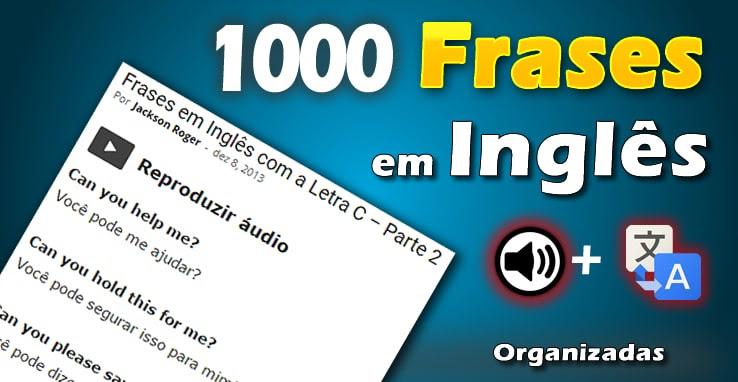 1000 Frases Em Inglês