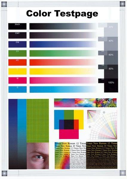 Hp Drucker Testseite Farbe - HP LaserJet Pro 200 Color