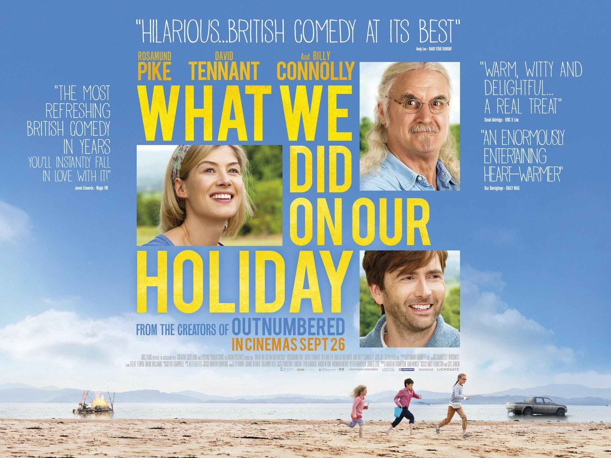 What We Did on Our Holiday (2015) Pictures, Trailer ...