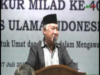 MUI Harus Jadi Tenda Besar Bagi Ummat Islam