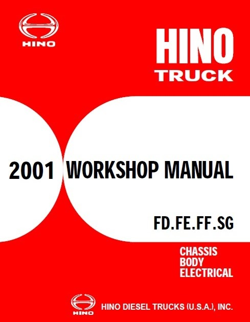 HINO Service Manuals 2001 - 2018 | hino