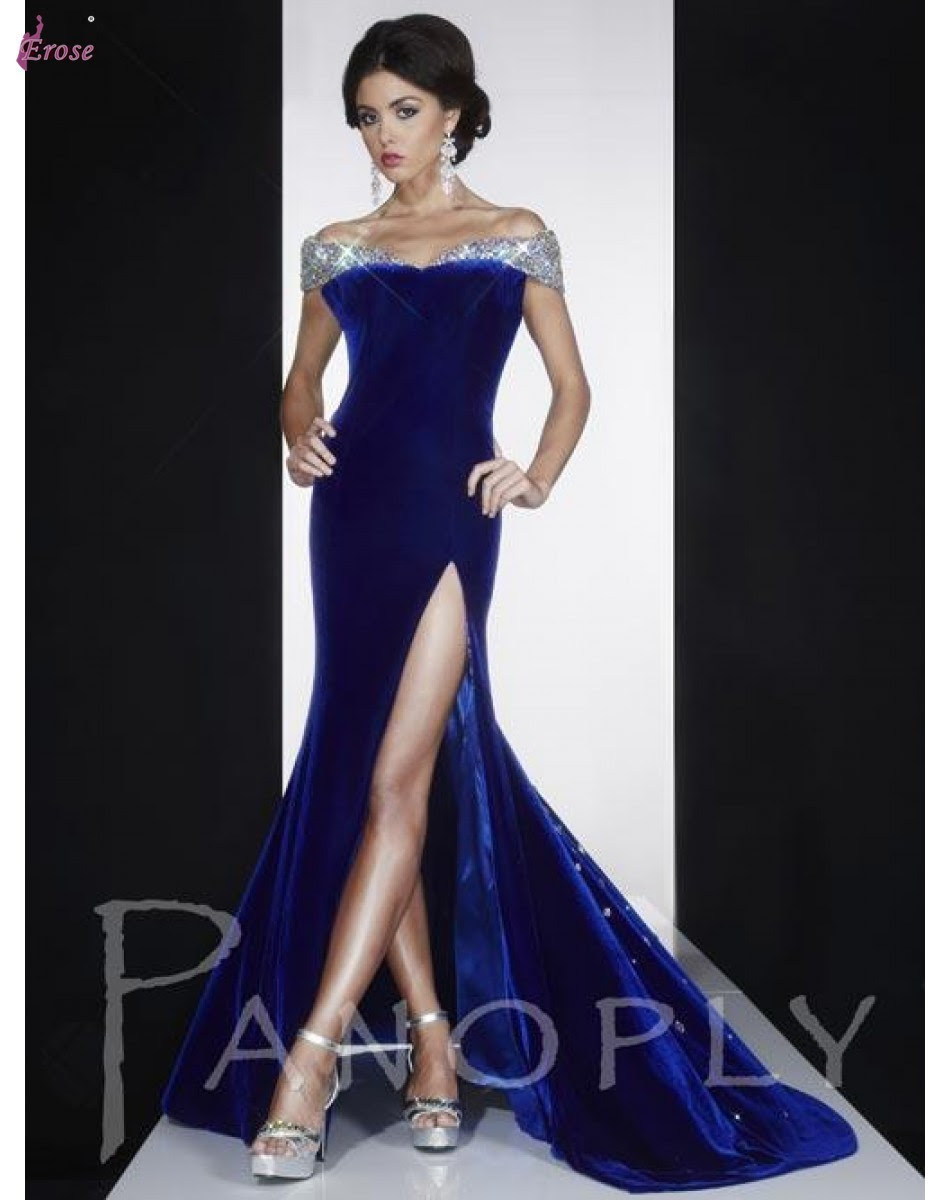 Evening dresses models