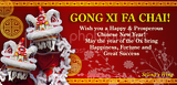 Happy Chinese New Year! Gong Xi Fa Chai!