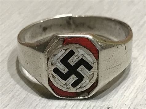 NSDAP patriotic ring Silver 800