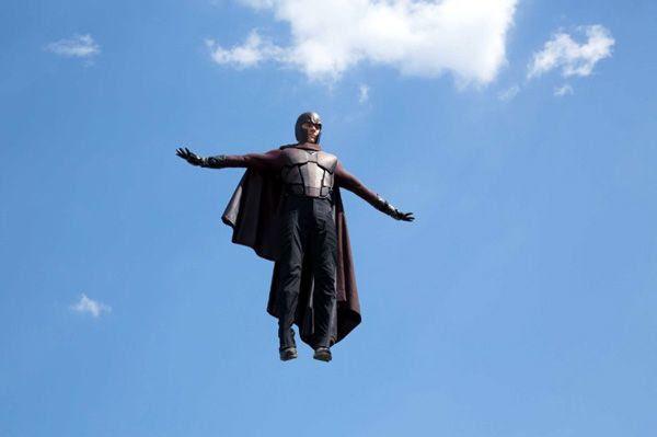 Magneto (Michael Fassbender) prepares to wreak havoc on Washington, D.C. in X-MEN: DAYS OF FUTURE PAST.