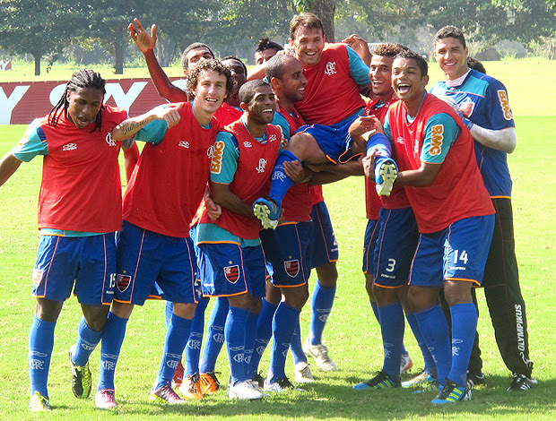 Petkovic último treino Flamengo (Foto: Janir Júnior / Globoesporte.com)