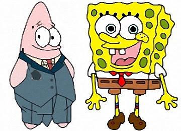 ausmalbilder spongebob und seine freunde