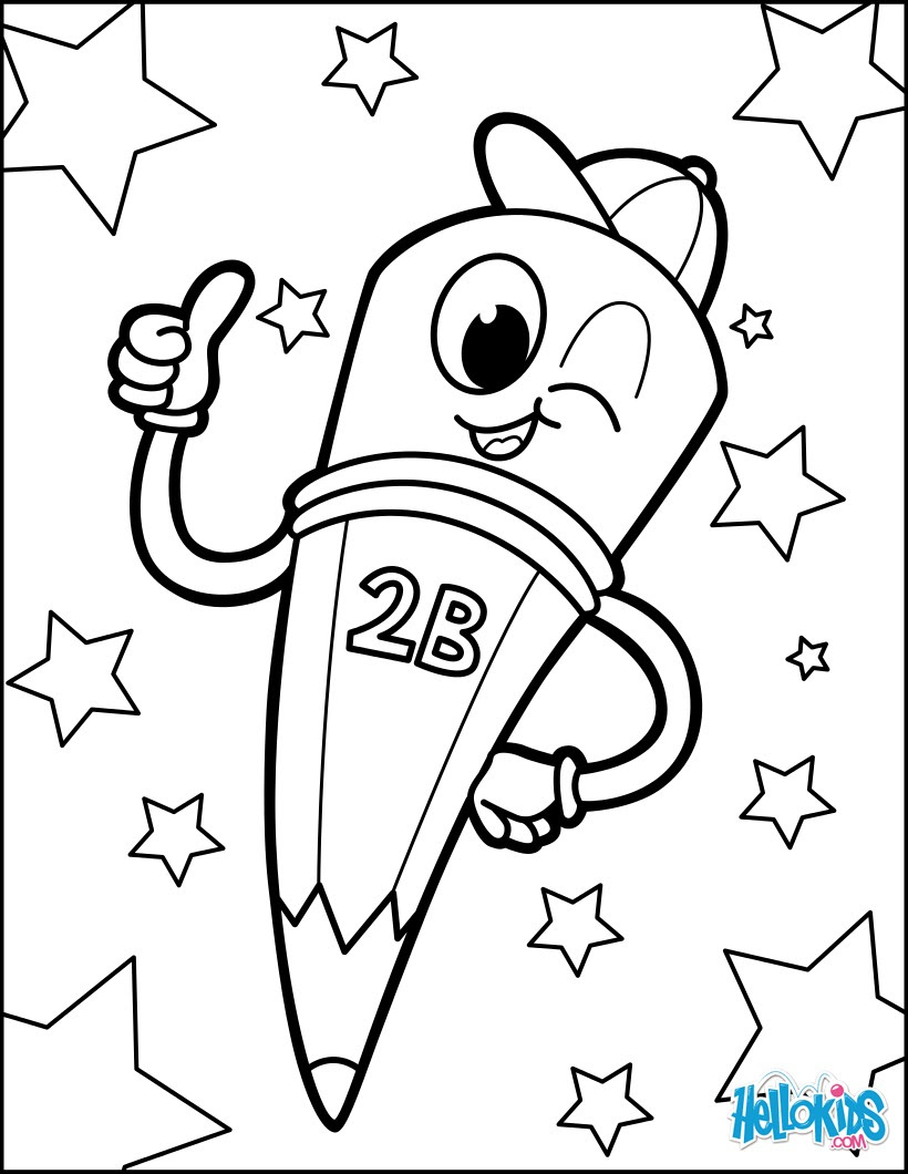 Dibujos Para Colorear Back To School 3 Eshellokidscom