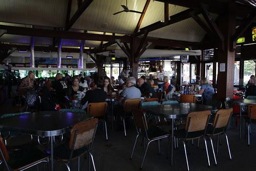 Inside Cicerello's Fish & Chips restaurant