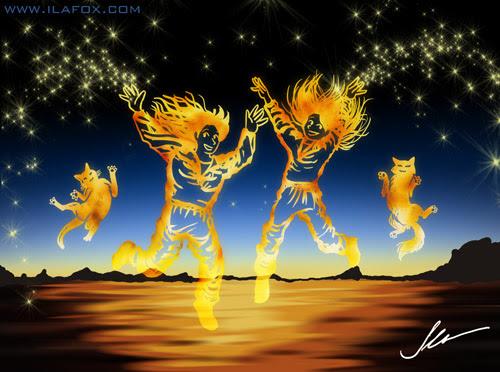 Clipe can you feel it - Jacksons five by ila fox