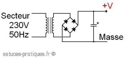 le condensateur filtrage d alimentation 1