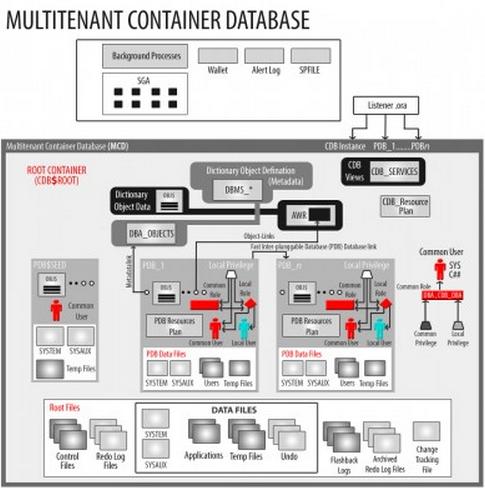 Oracle 12c Multi Tenant Database