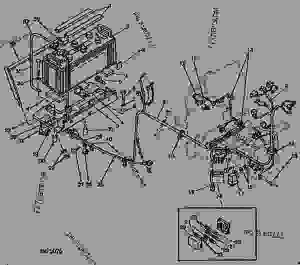 John Deere 345 Wiring Harnes Schematic